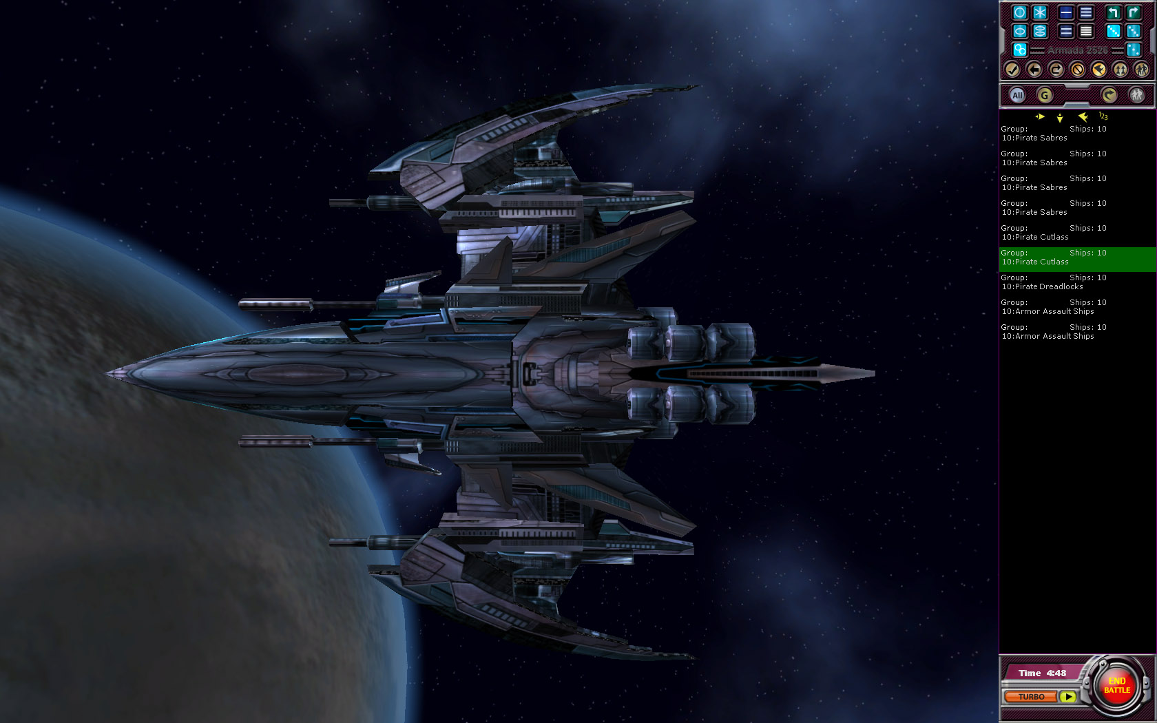 Although Armada 2526 has glorious sound and graphics that inspire and  immerse the player, the main focus is providing a great game play  experiences.